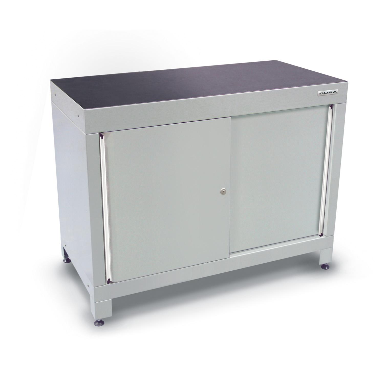 1200mm Wide Base Cabinet (double Sliding Doors/feet)