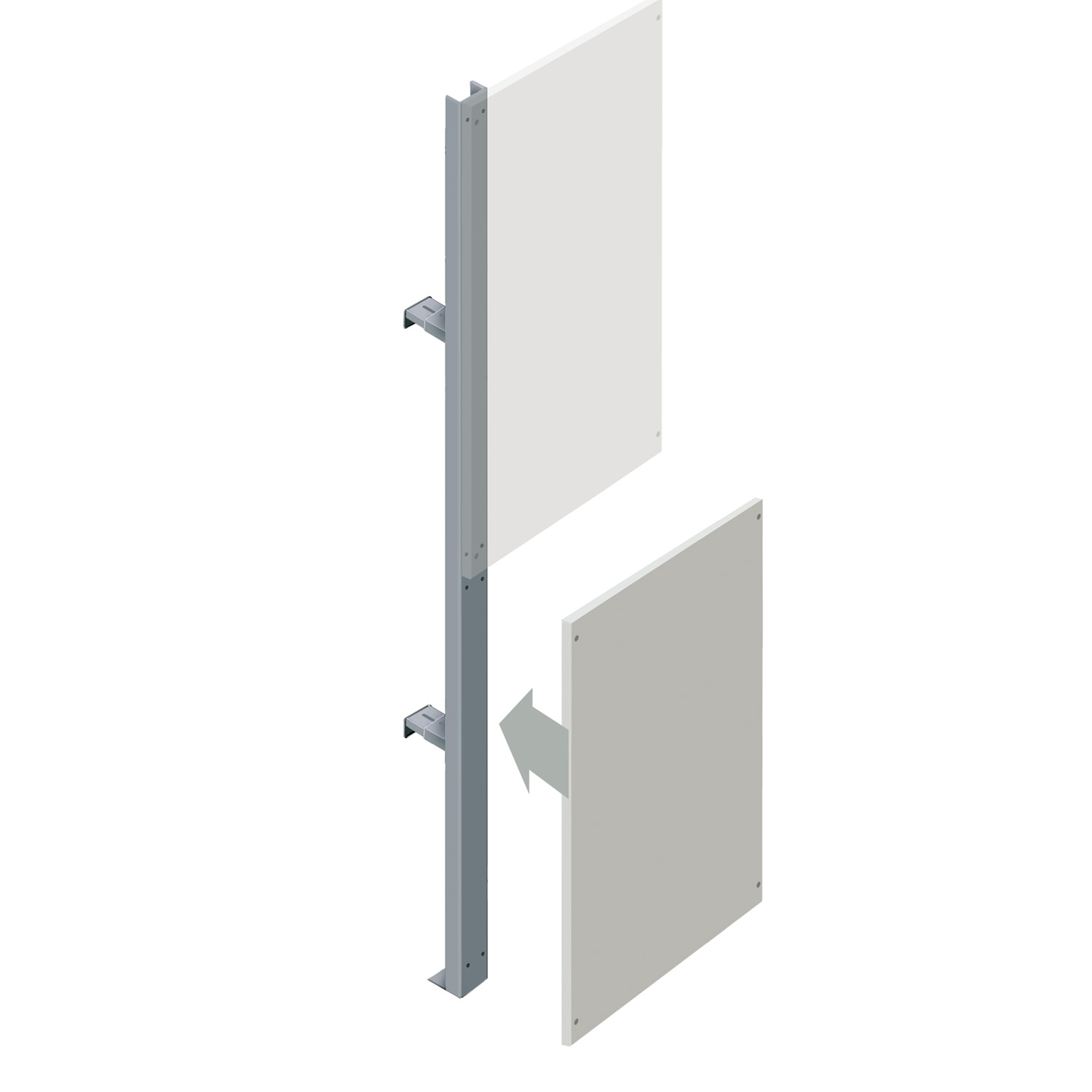Lower Partition Walling Panel (600mm)