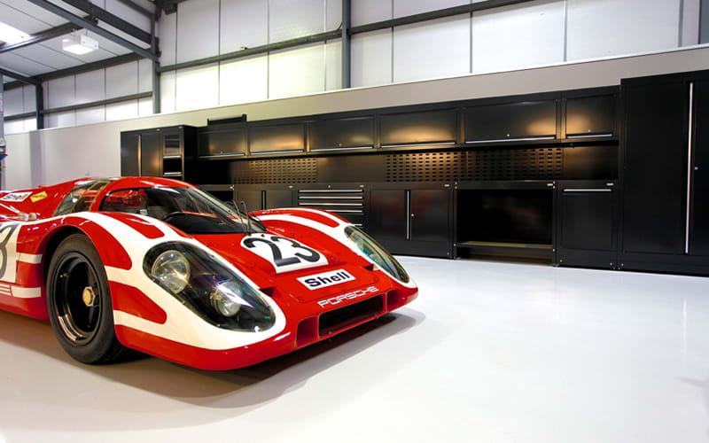 Maxted Page Porsche integrated workshop by dura