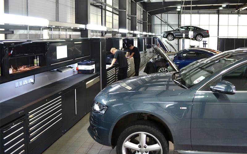 Audi Workshop Custom Audi Workshops From Dura Ltd