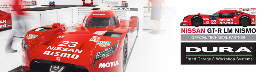 Behind the Scenes of the new Nissan GT-R LM Nismo Workshop