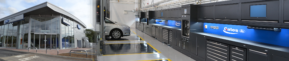 Gates raises the bar for Ford workshop fitout