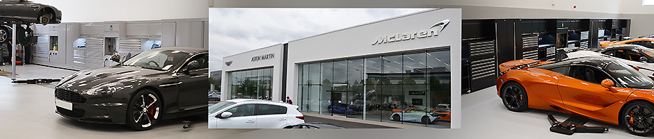 Dura delivers for Grange's landmark luxury car developments in Hatfield
