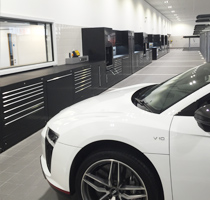 Dura & Gemco join forces to create bespoke service centre for Audi Poole