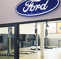 Dura work with Continova AB to deliver high standards for FordStore