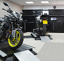 Alf England Motorcycles - Making room for Dura
