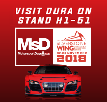 Dura to Exhibit at Motorsport Days