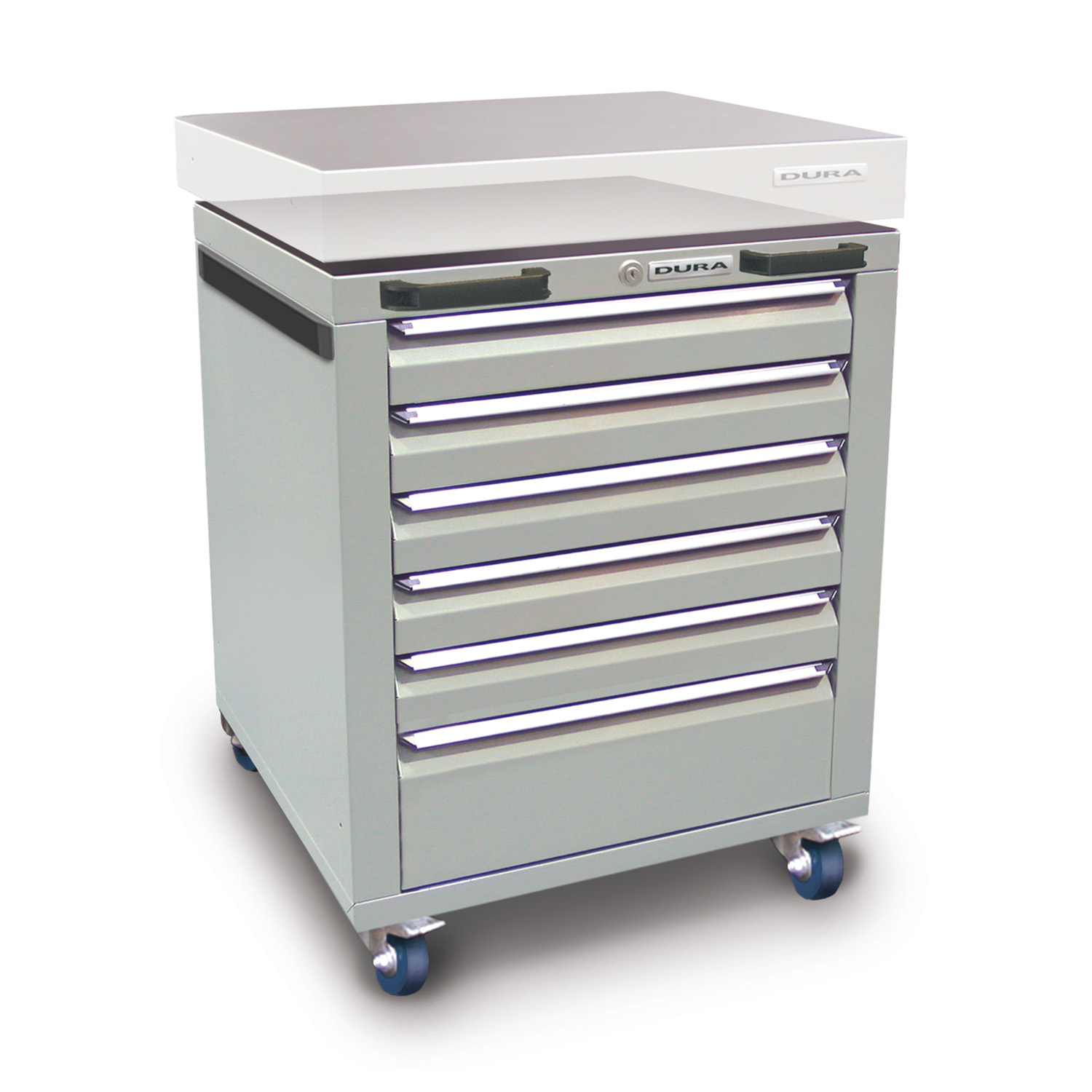 560mm Under-bench cabinet (6 drawers)