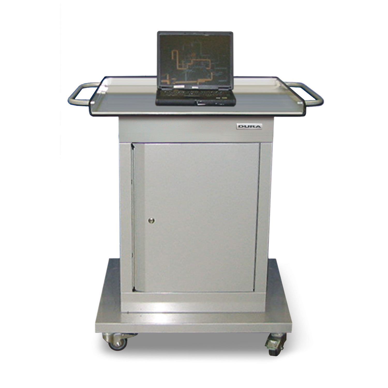 Charming Mobile Computer/diagnostic Cabinet