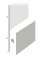 Lower Partition Walling Panel (1200mm)