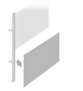 Lower Partition Walling Panel (1500mm)