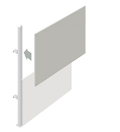Upper Partition Walling Panel (1500mm)