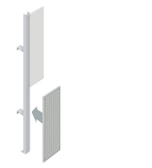 Lower Squarepeg Partition Walling Panel (300mm)