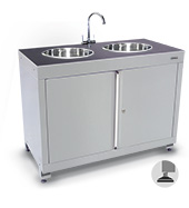 Double Sink Cabinet (1200mm)