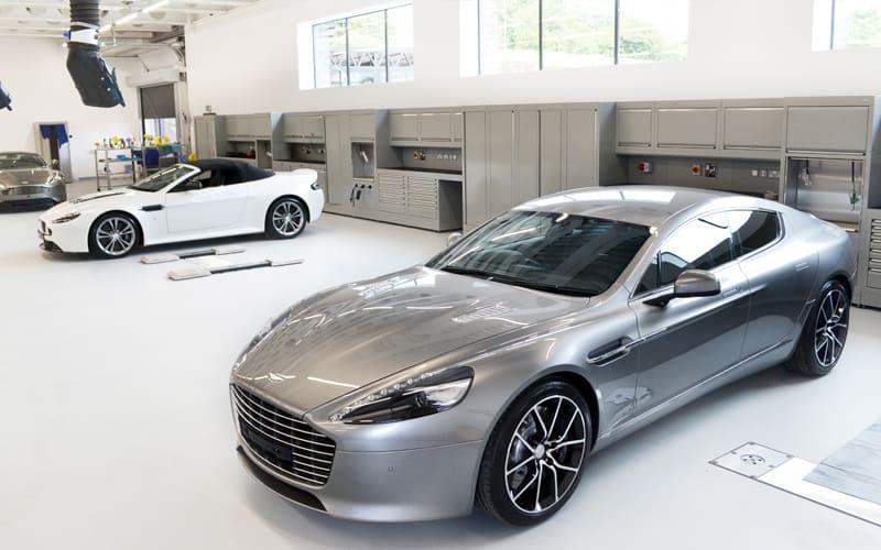 Aston Martin Workshops Workshop Cabinets By Dura Ltd