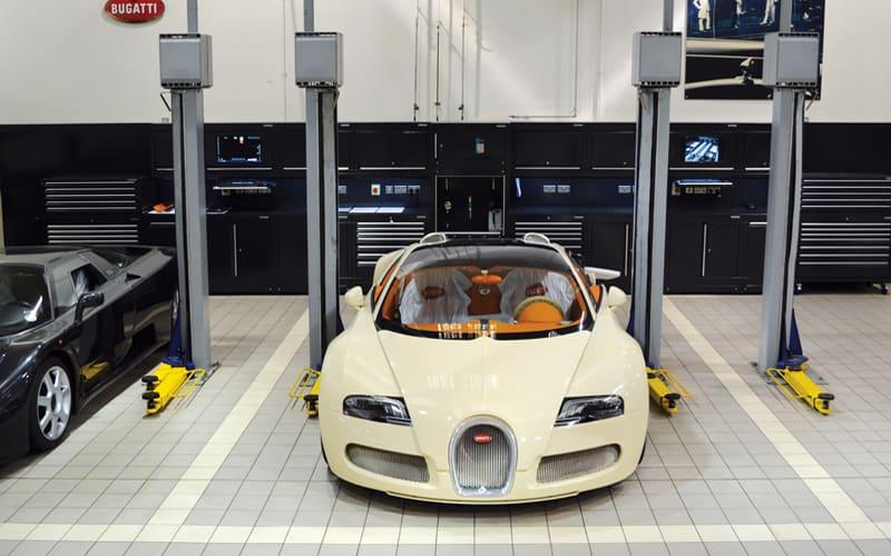 HR Owen Bugatti in London by Dura Ltd