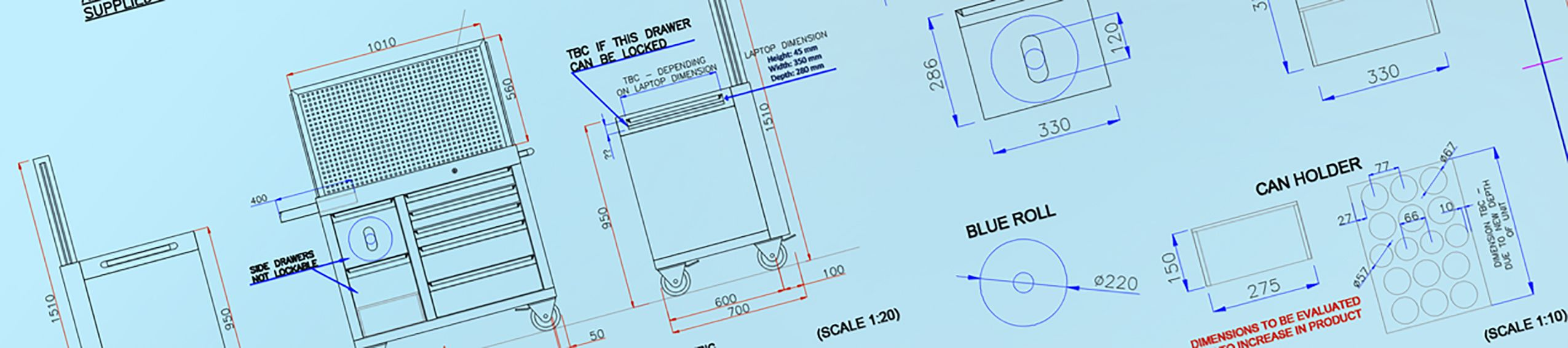 CAD design/Product design by Dura Ltd