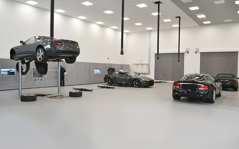 Aston Martin Hatfield Workshop by Dura Ltd