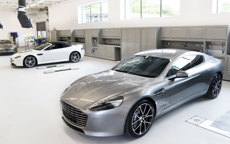 Aston Martin Bristol Workshop by Dura Ltd