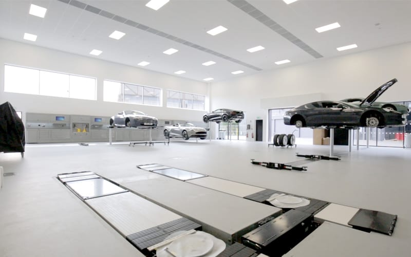 Aston Martin Nottingham Workshop by Dura Ltd