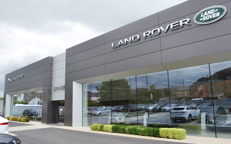 Jaguar Land Rover Workshop Barnet by Dura Ltd