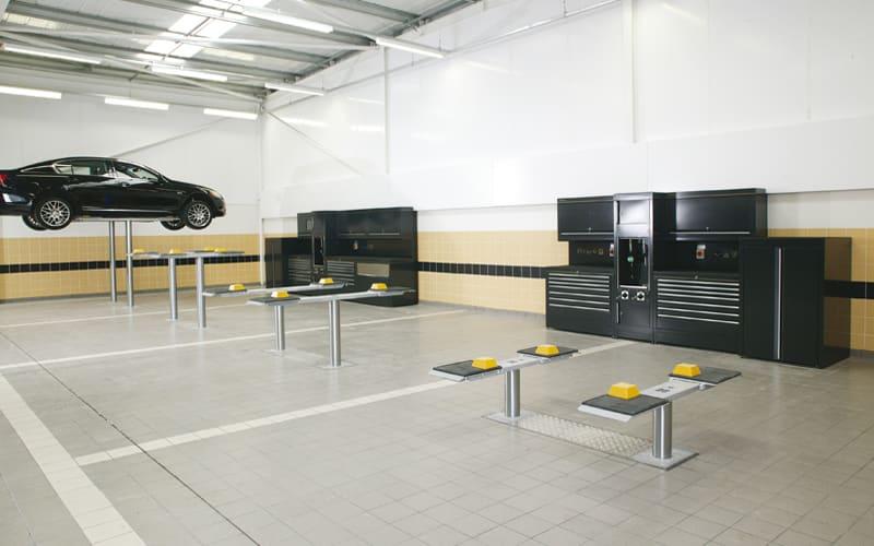 Lexus Workshop Cabinets in Bolton by Dura Ltd