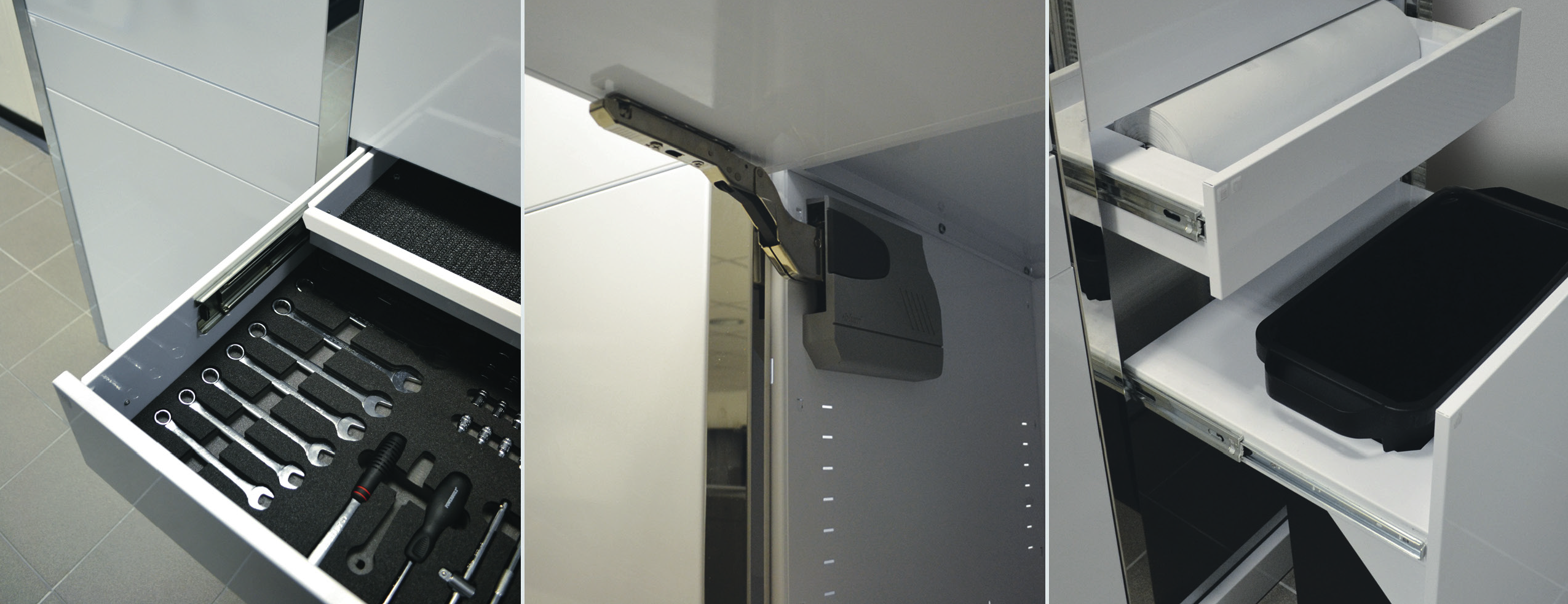 Dura ServiceWall Integrated Cupboards and Systems